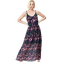 FIND Maxi Dress in Chiffon Donna 43936f0cd95