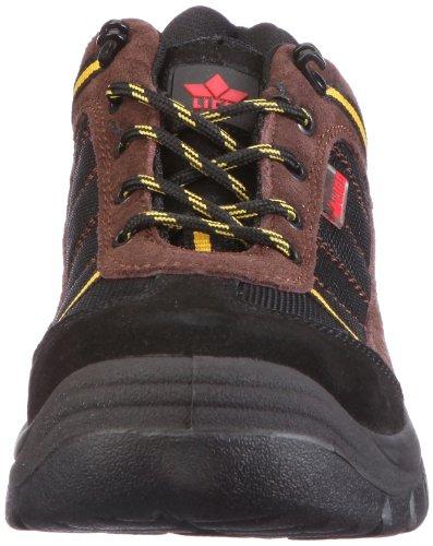 Lico Security Low, Chaussures de sécurité homme Noir (Schwarz/braun/gelb)