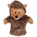 Twisha Hand Puppet With Opening Mouth Hedge Hog Cream 25 X 15 X 24 Cms