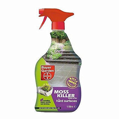 Les meilleurs produits anti mousse pour jardin de 2018 for Bayer jardin anti mousse