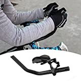 enshey TT Lenker Aero Bars Tri Bars Bike Rest Lenker für Triathlon Time Trial, Road oder Mountainbike, – Ein Paar