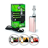 SC/Eleaf iStick Trim 1800 mAh Akku 1,8 ml Tankvolumen + 3 x 10 ml SC-Liquid (nikotinfrei) E-Zigaretten Set E-Zigarette E-Shisha (rosegold)