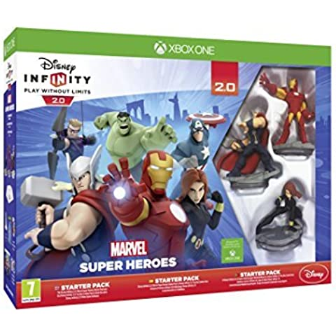 Disney Infinity 2.0 Marvel Superheroes Starter Pack (Xbox One) by Disney