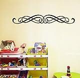 homemay PVC Wandtattoo Aufkleber europäischen klassischen Muster Hintergrund Schlafsofa Wohnzimmer...