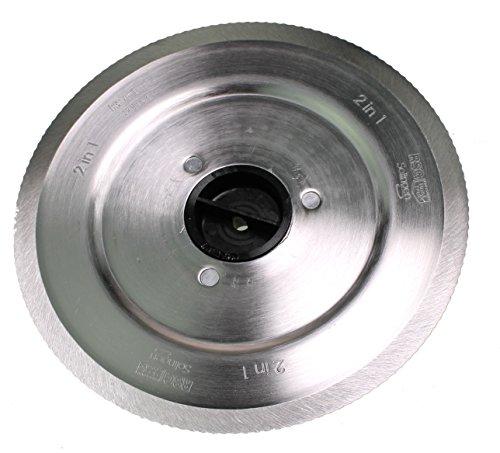 Bosch 12012164 2in1 Standard-/Schinkenmesser NUR PASSEND FÜR MAS9555M Allesschneider