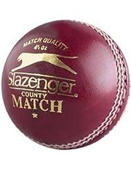 SLAZENGER County Match 5 1/2 oz Bola de Cricket