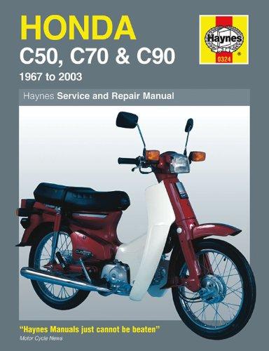 Price comparison product image Haynes Manual 324 HON C50 / 70 / 90 1972 ON