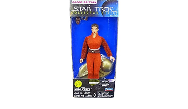 "Bajor Edition 9/"" Major Kira Nerys Star Trek Collector Series New"