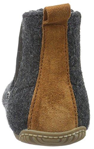 Living Kitzbühel Chelsea Boot, Chaussons garçon Grey (Anthra 600)