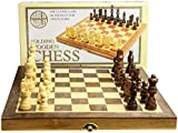 House of Marbles Standard Wooden Fold-Up Chess Set
