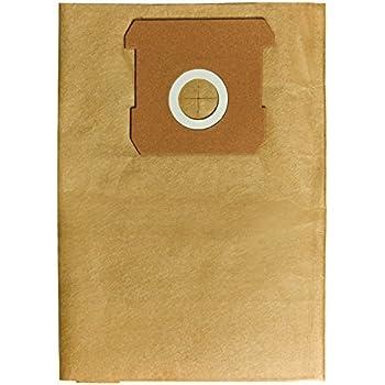 10 x  Staubsack Staubsaugerbeutel Schmutzfangsack Vlies passend für Bosch Typ W