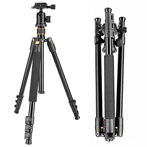 Neewer® Tragbare 62inch / 158cm Alluminum Legierung Kamera-Stativ mit 360-Grad-Kugelkopf , 1/4