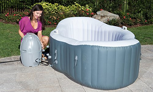 Lay Z Spa Hot Tub, Siena Airjet Inflatable Spa, 1 2 Person   Inflatable