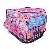 Nuheby Zelt für Kinder Spielhaus Spielzelt Playhouse Indoor Outdoor Faltbar Cars Zelt Mädchen Jungen Geschenke 3,4,5,6 Jahre