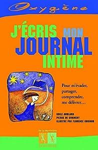 """Afficher """"J'écris mon journal intime"""""""