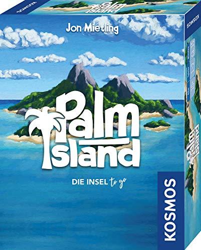 KOSMOS 741716 - Palm Island, Die Insel to go, Spielt sich bequem in einer \nHand, Kartenspiel für 1 bis 2 Spieler ab 10 Jahren