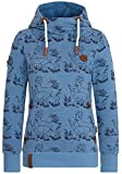 Naketano Female Hoody Kacktusse Light Blue Melange, S