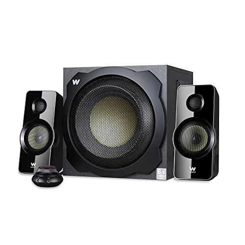 Woxter Big Bass 260 - Altavoces multimedia (2.1, potencia 150W, 90- 20000 Hz), color negro