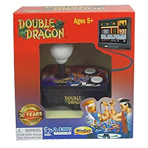 Double Dragon TV Arcade Plug and Play Joystick [UK-Import]