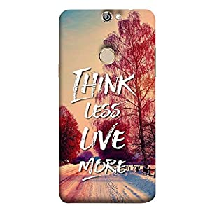 YuBingo Designer Phone Back Case Cover Coolpad Max A8 ( Think Less. Live More )