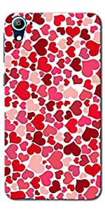 DigiPrints High Quality Printed Designer Soft Silicon Case Cover For HTC Desire 628
