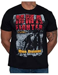 Dirty Ray Arts Martiaux MMA Fighter Division t-shirt homme K67