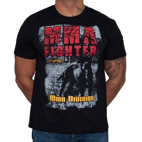 Dirty Ray Arti Marziali MMA Fighter Division maglietta T-shirt uomo K67 (XL)