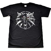 Teamzad Wolf Medallion Gamer Camiseta para hombre