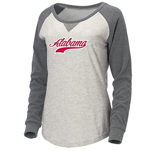 Ouray Sportswear NCAA Auburn Universität W Benchmark Kapuze, Damen, Oatmeal Heather/Graphite
