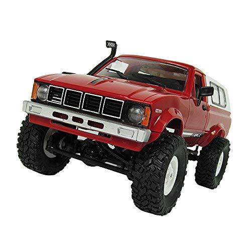 RC Auto mit Batterie 4WD 2,4 GHz 1/16 Militär Rock Buggy Crawler Off-Road RC Auto Spielzeug 360 ° drehbarer Stunt wiederaufladbar für Erwachsene und Kinder über 6 Jahren
