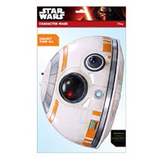 Star Wars Episode 7 BB - 8 Face Maske - Mehrfarbig Damen 7 Support