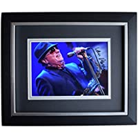 Sportagraphs Van Morrison SIGNED 10x8 FRAMED Photo Autograph Display Music AFTAL COA PERFECT GIFT