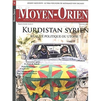 Moyen-Orient N 41 Rojava - Janvier 2019