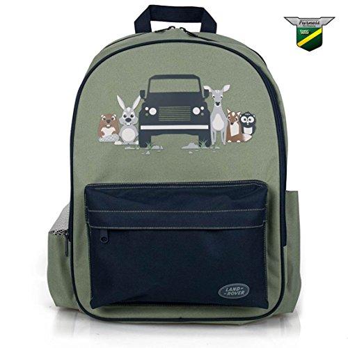 Preisvergleich Produktbild ECHTE Kinder Rucksack Rucksack (grün)