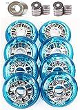Hyper 4-8er Set NX 360 Rolle 80mm 84a Speed Inliner Skates Op. Kugellager ABEC 9 für div. Skate K2 Rollerblade Salomon Fila