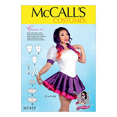 McCall's Patterns Patrons de Costumes, papiers, Multicolore, Tailles 14–22
