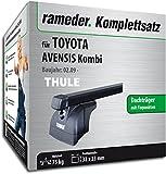 Rameder Komplettsatz, Dachträger SquareBar für Toyota AVENSIS Kombi (116494-08008-1)
