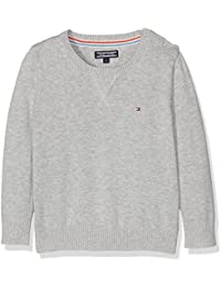 Tommy Hilfiger Basic Htr CN Sweater L/S, Children's and Boys Sweater