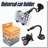 #7: High Quality Soft Tube Universal Car Mobile Holder 360 Degree Rotating