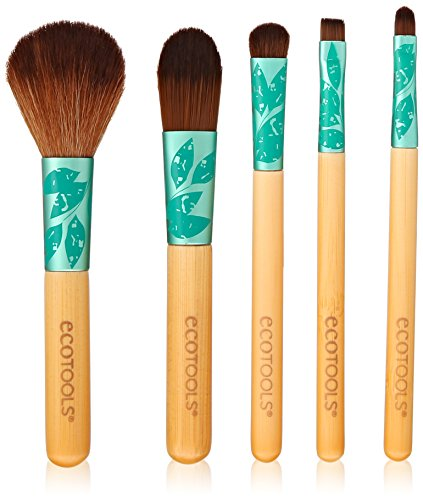 Makeup Brushes de EcoTools Fresh & Flawless Five Piece Complexion Set