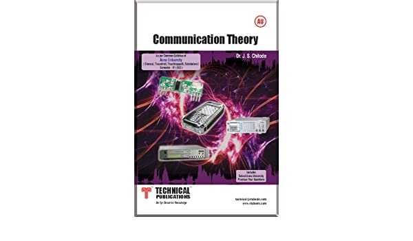 Communication Theory By Chitode Ebook