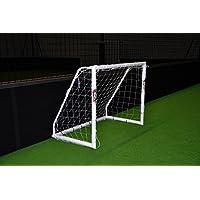 POWERSHOT® Fußballtor PRO 1,5 x 1,2 m aus uPVC, WETTERFEST, inkl. Zubehör