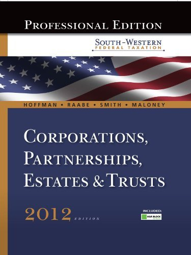 south-western-federal-taxation-2012-corporations-partnerships-estates-and-trusts-professional-versio