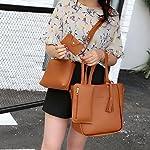 Handbag, Shoulder Bags,TUDUZ Women Fashion Casual Four Set tassel Handbag Shoulder Bags Four Pieces Tote Bag Messenger… 18