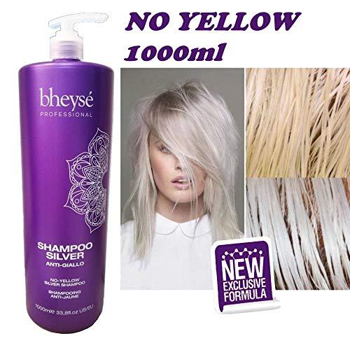Shampoo Silver Anti Gelb, Kein gelbes Bheysè Professional 1000ml - Renèe Blanche