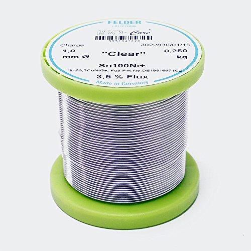 felder-lotdraht-iso-core-lotzinn-clear-10mm-025kg-sn100ni-sn993cunige