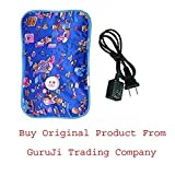 #6: GTC® Electric Heat Bag Hot Water Bottle Pouch Massager Rectangle Shaped (Assorted Design & Color) (Pack OF 1)