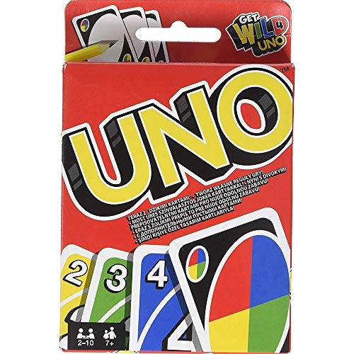 CHESUN UNO Solitaire Youno Card Games Paare Doppelenglisches Set Youno Tray Party Crystal Tin Box Solitaire Spiel Crystal Tray