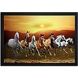 PAF Horse Framed Wall Art Paintings (12 inch x 18 inch,Wood 35 cm x 2 cm x 50 cm)