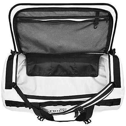 The-Friendly-Swede-Reisetasche-Duffle-Bag-Duffel-Bag-Rucksack-30L60L90L-Sporttasche-Travel-Bag-Rucksackfunktion-SANDHAMN-Wei-90L